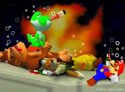 drunk super smash bros