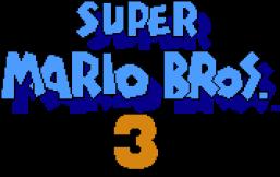super mario bros 3 drinking game logo