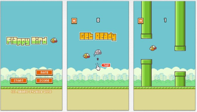flappy bird screens