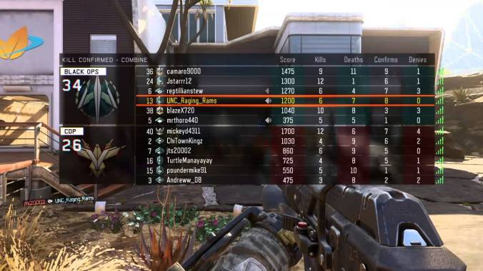 black ops 3 match results