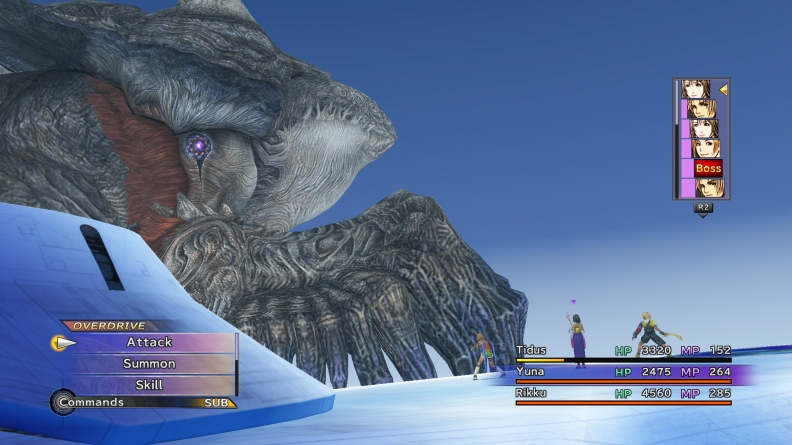 sin fight final fantasy x
