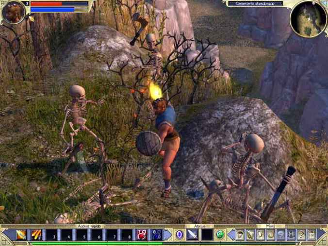 titan quest gameplay