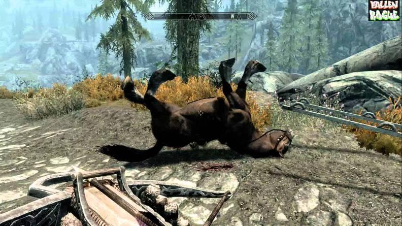 Dead horse Skyrim