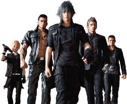 final fantasy xv gang ffxv