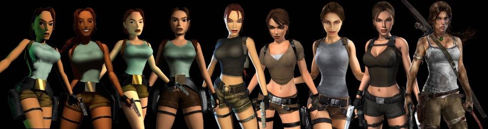 lara croft evolution timeline