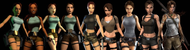 lara croft evolution timeline