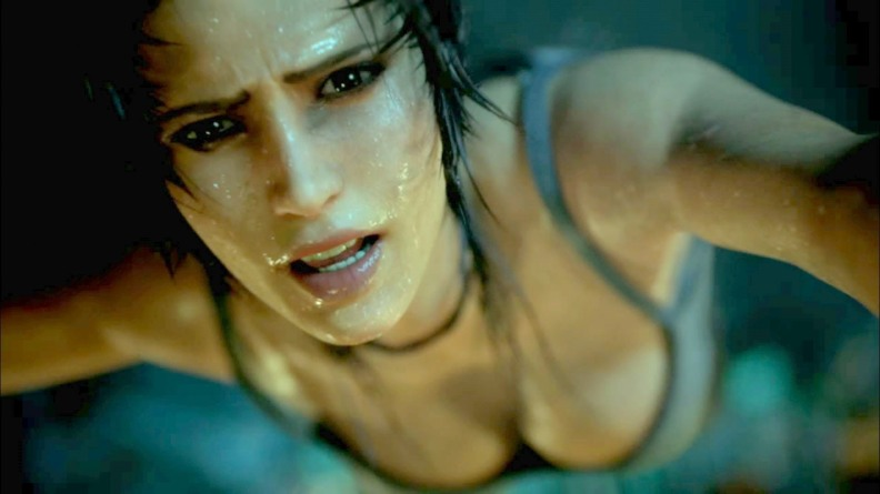 wet lara croft tomb raider