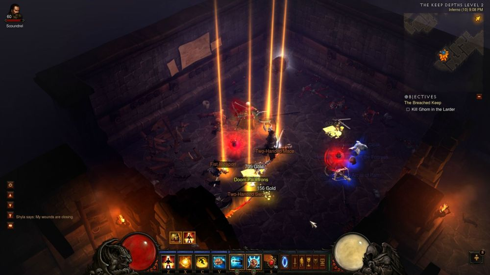 Diablo Rare Drop Drinking Game