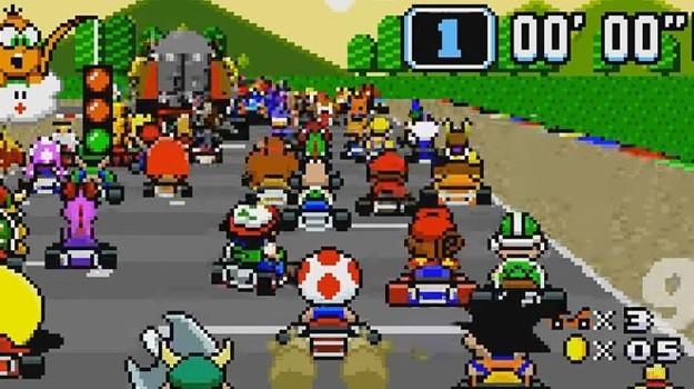 Mario Kart 101 players drinking game