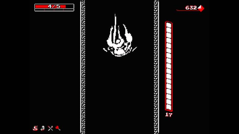 Downwell screen drinking game