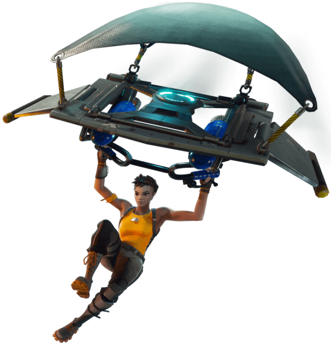 Fortnite Battle Royale Glider Girl