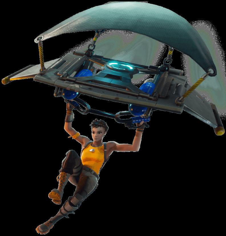 Fortnite Battle Royale Glider Girl
